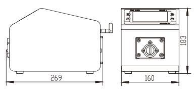 BT300F分配智能型蠕动泵尺寸图
